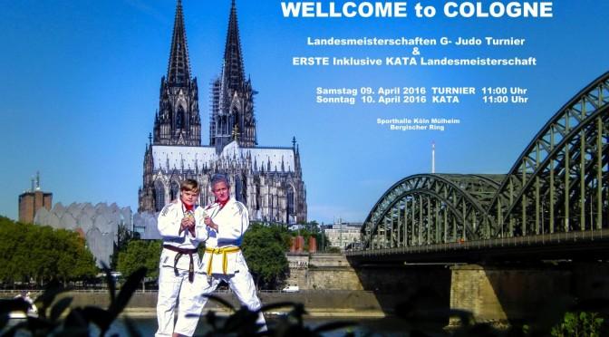 DIE LANDESMEISTERSCHAFTEN G-Judo 09.04.2016 -10.04.2016 in Köln