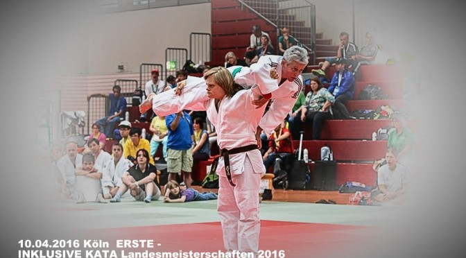 Erste Inklusive KATA Landes Meisterschaften 10.04.2016 in Köln