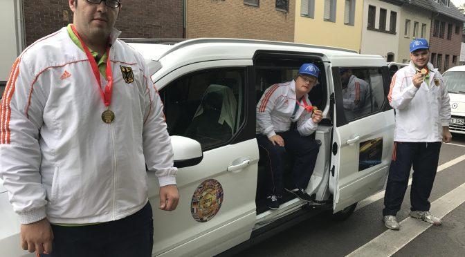 3 x GOLD für Kölner Kader Team