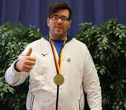 Der Kölsche Grieche THEO LAVASAS wurde Weltmeister im Schwergewicht Judo    Id-/G-Judo