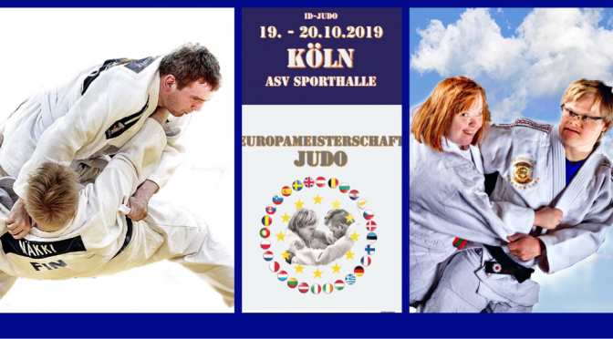 2. Judo Europameisterschaft ID-Judo Köln 19.-20.10.2019
